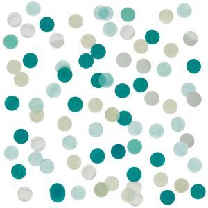 Tissue & Foil Confetti - Green