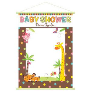 Fisher-Price® Welcome Baby Sign-In Sheet
