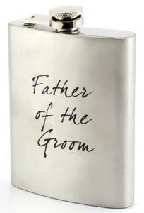 Hip Flask Father of the Groom - fickplunta till brudgummens far