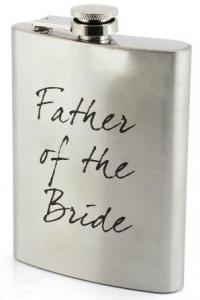 Hip Flask Father of the Bride - fickplunta till brudens far