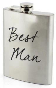 Hip Flask Best Man - fickplunta till best man