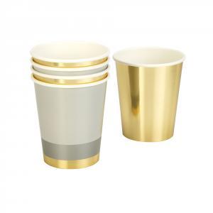Modern Metallics Paper Cups
