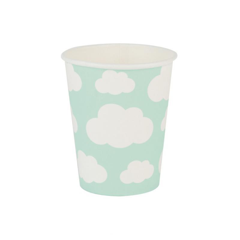 Paper Cups - Clouds