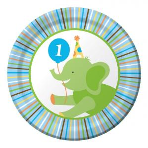 Sweet at One Birthday Boy Lunch Plates 17 cm