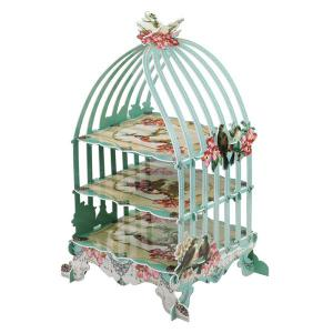 Pastries & Pearls Birdcage Cake Stand