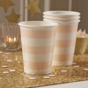 Pink Paper Cups - Pastel Perfection
