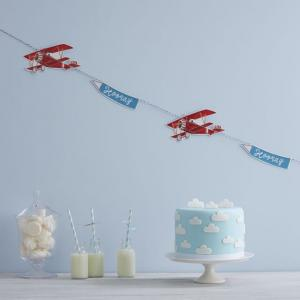 Paper Plane Bunting - Flying High