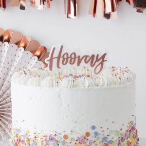 Rose Gold Hooray Candle - Pick & Mix
