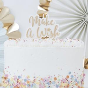 Gold Make A Wish Candle - Pick & Mix Pastel
