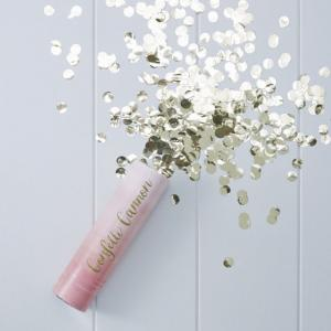 Pink Ombre Confetti Cannon Shooter - Pick & Mix