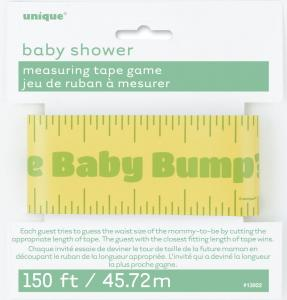 Baby Shower Measuring Tape Game - måttbandslek