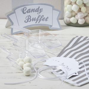 Silver Candy Bar Kit - Vintage Lace