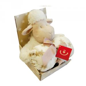 Kaxholmen Sheep & Blanket Gift Set