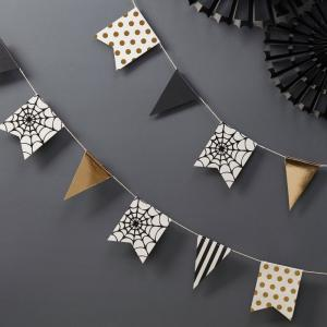 Mini Halloween Bunting - Trick Or Treat