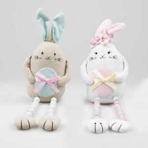 Cute Easter Bunny Sitting Decoration