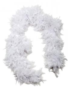 White Feather Boa 183 cm - Feather Romance