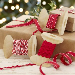 Festive Christmas Ribbons Kit - Vintage Noel