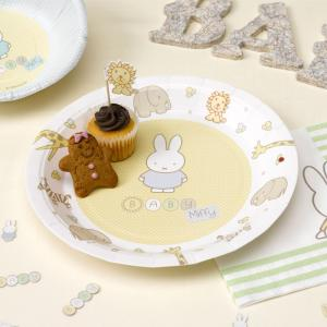 Baby Miffy - Paper Plates