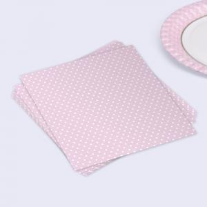 Polka Dot Napkins - Pink