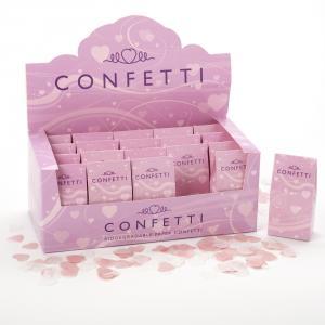 Tissue Paper Confetti - Pink & White