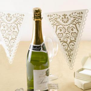 Paper Bunting - Vintage Romance Ivory & Gold