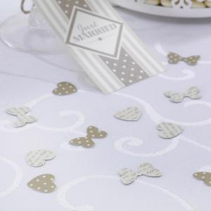 Table Confetti - Chic Boutique Ivory & Gold