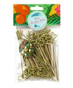 Mini Wooden Picks - ministicks för plockmat