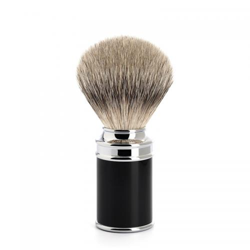 Mühle - Traditional Silvertip Badger Svart