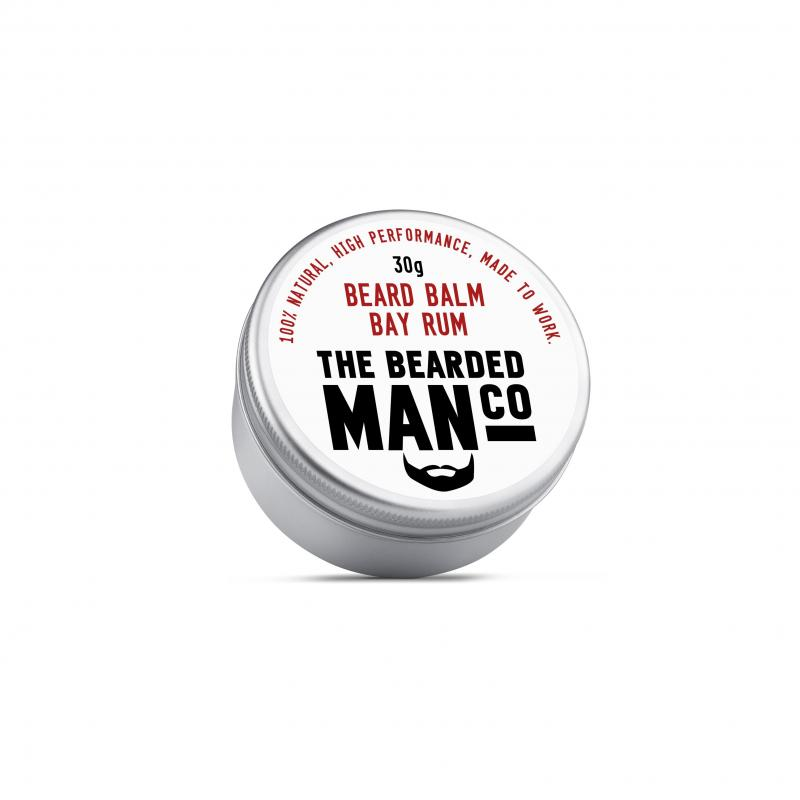 The Bearded Man Company - Beard Balm Bay Rum