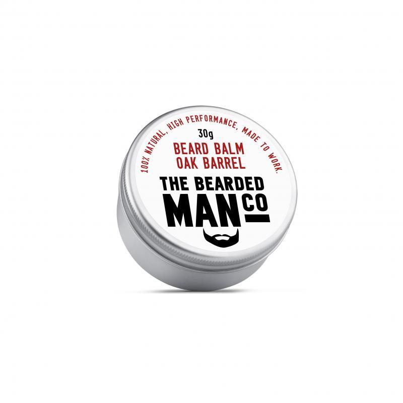 The Bearded Man Company - Beard Balm Oak Barrel