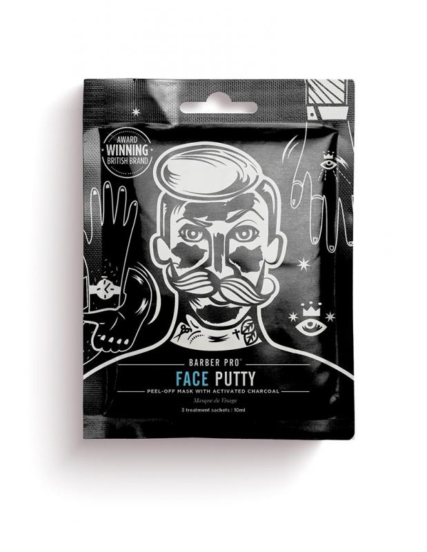 Barber Pro - Face Putty Peel-Off Mask