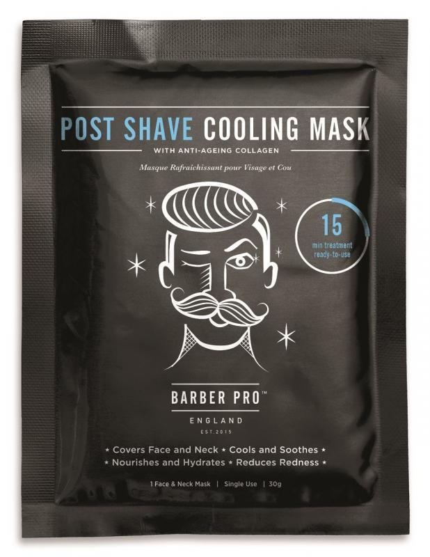 Barber Pro - PostShave Cooling Mask