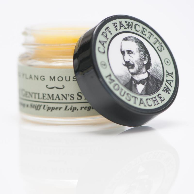 Captain Fawcett - Moustache Wax Ylang Ylang