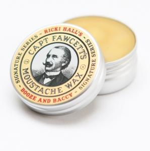 Captain Fawcett - Moustache Wax Ricki Hall's Booze & Baccy