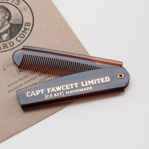 Captain Fawcett - Pocket Beard Comb