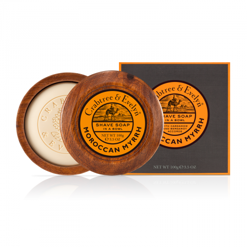 Crabtree & Evelyn - Moroccan Myrrh - Shave Soap In A Bowl 100g