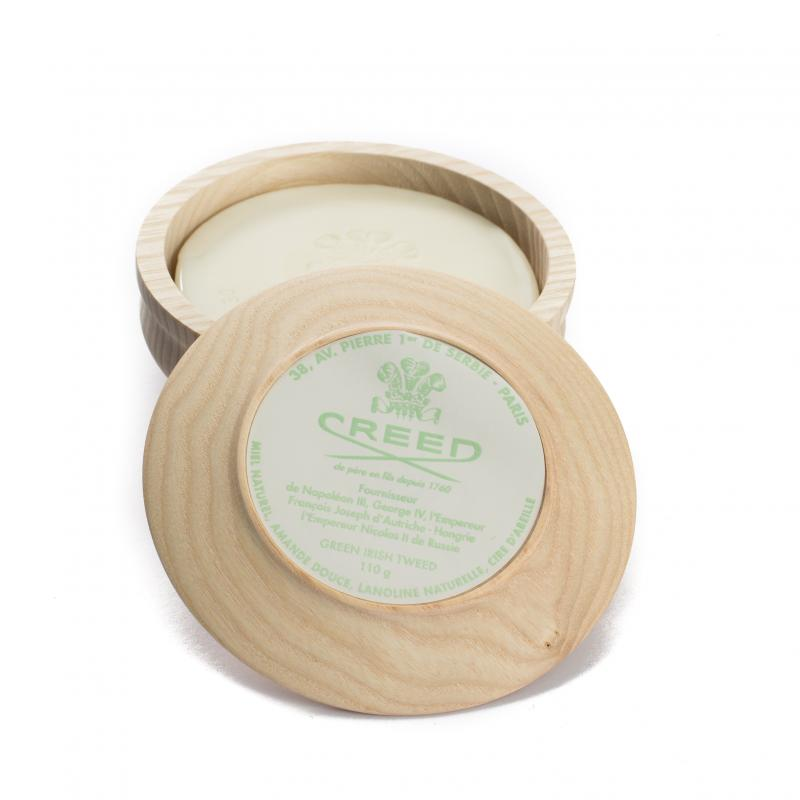 Creed - Shaving Soap Bowl - Green Irish Tweed