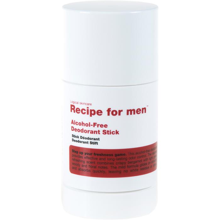 Recipe For Men - Alcohol-Free Deodorant Stick