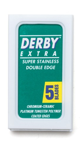 Derby - Dubbelrakblad 5-pack