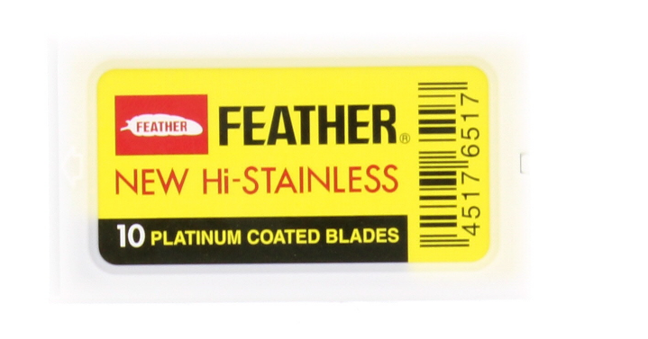 Feather - Dubbelrakblad 10pack