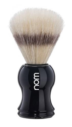Nom - Gustav Shaving Brush Pure Bristle - Black