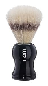 Nom - Gustav Shaving Brush Pure Bristle - Black