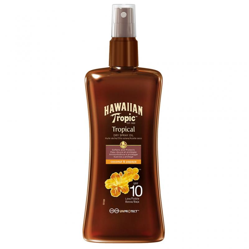 Hawaiian Tropic - Protective Dry Spray Oil SPF 10