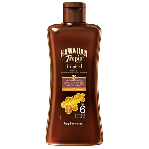 Hawaiian Tropic - Protective Dry Oil Spf 6