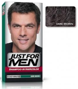 Just For Men - Hårfärg Dark Brown