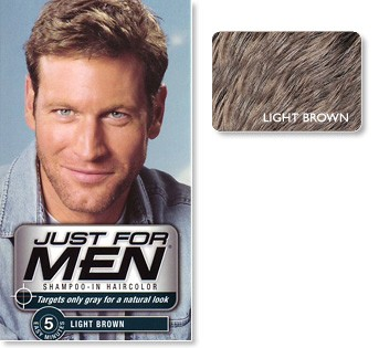 Just For Men - Hårfärg Light Brown