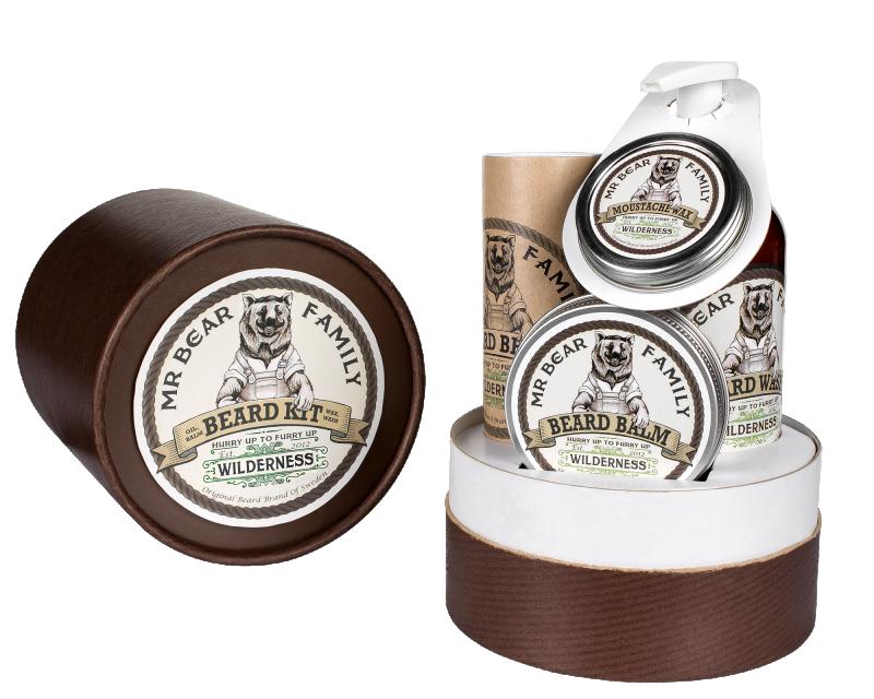 Mr Bear Family - Beard kit Wilderness