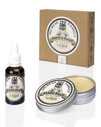 Mr Bear Family - Special Brew & Balm Citrus