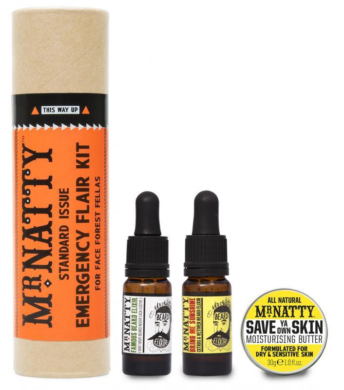 Mr Natty - Mr Natty Emergency Flair, Beard Kit