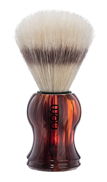 Nom - Gustav Shaving Brush Pure Bristle - Havanna